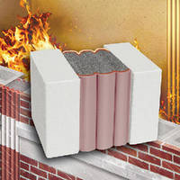 Expansion Joint features 3 hour fire rating.