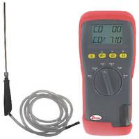 Handheld Gas Analyzer measures CO and CO2.