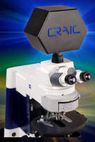 Microspectrophotometer covers UV-visible-NIR range.