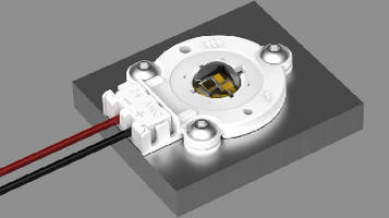 Solderless LED Socket complies with UL-1977 specifications.