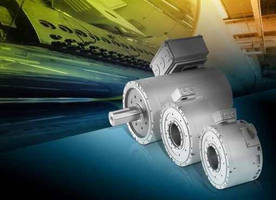 Compact Torque Motors are available with plug-in or solid shaft.
