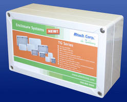 Industrial Enclosures are available in 16 sizes.
