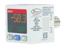 Digital Pressure Controller provides ±3% full range accuracy.