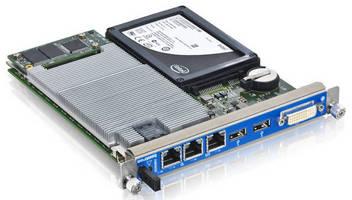 AdvancedMC Processor Module is powered by Intel Core i7 CPU.