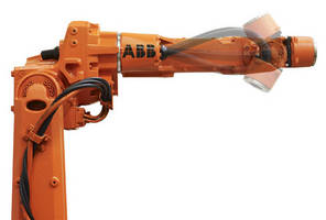 Mid-Size Material Handling Robot has 15 kg payload capacity.