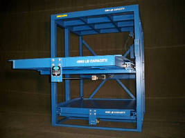 Roll-Out Shelving Racks provide 4,000 capacity.