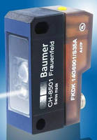 Diffuse Contrast Sensor enables reliable print mark detection.