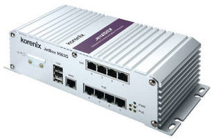 Vehicle Computer/Router offers 4 gigabit and 4 PoE ports.