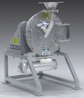 Centrifugal Impact Mill woks in space-restricted areas.
