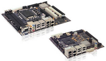 Embedded Motherboards support 2nd Gen Intel Core i3/i5/i7 CPUs.