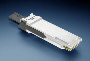 QSFP+ Optical Transceivers combine high-density and low power.