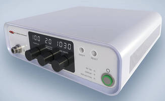 Medical-Grade Microwave Power Generator replaces larger sources.
