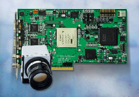Image Processing Board supports real-time operation.