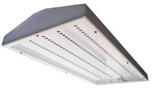 LED Light Fixture is rated for 60,000 hr operational life.