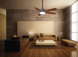 Ceiling Fan includes dimmable LED luminaire.