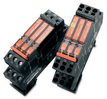 Solid-State, Terminal Block Relays provide electrical isolation.