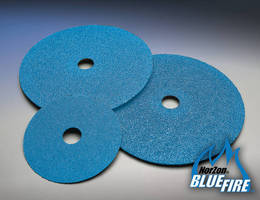 Abrasive Fiber Discs target metal fabricating applications.