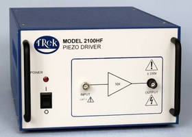 High-Frequency Amplifier incorporates dual feedback design.