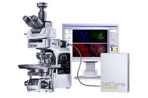 Motorized Microscope features modular, customizable design.