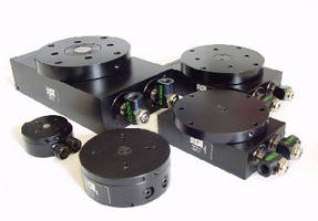 Pneumatic Rotary Actuators feature output flange stops.