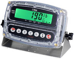 Digital Weight Indicator withstands high-pressure washdowns.