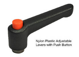 Adjustable Hand Levers feature push button operation.