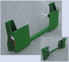Tractor Attachment Adapter enables use of quick attach system.