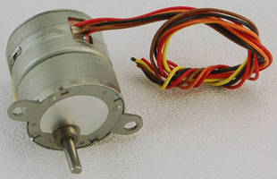 Gearhead Stepper Motor delivers high torque from small package.
