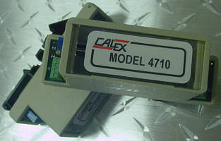 Signal Conditioner amplifies and filters load cells, strain gages.