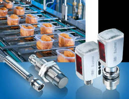 Photoelectric and Inductive Sensors in Hygienic Design
