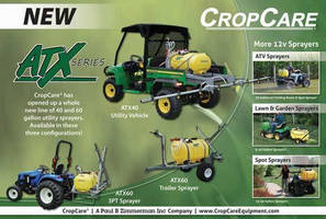 Configurable Sprayers may be used in diverse applications.