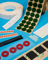 Rotary Die Cut Parts feature tight tolerances.