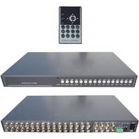CCTV Video Multiplexer offers real-time video refresh.