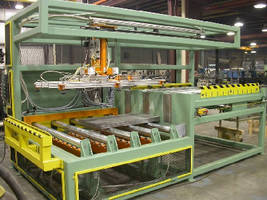 Sheet Feeder handles up to 5 parts per minute.
