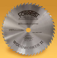 Woodworking Blades deliver clean, quiet cuts.