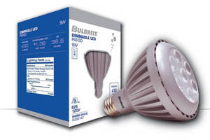Energy-Efficient LED Lamps dim down to 5% light output.