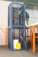 Hydraulic Vertical Lift offers capacities up to 3,000 lb.