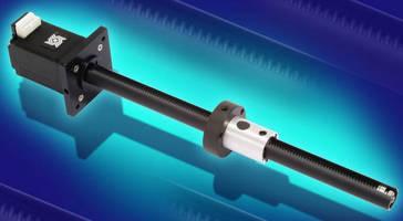 Motorized Linear Actuator has space-conserving design.