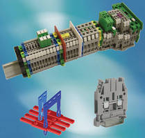 IEC Terminal Blocks are rated 1,000 Vdc for PV applications.