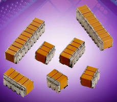 Stacked SMPS Capacitors are built to be RoHS compliant.