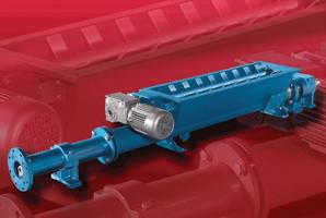 Moyno® 2000 Model G3 Progressing Cavity Pump Effectively Handles High Solids Content Materials