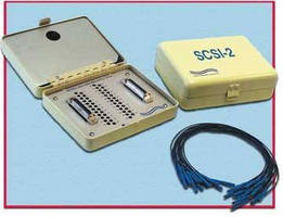 Breakout Box monitors all signals of SCSI-2 interface.