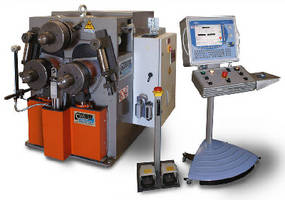 Bending Machine operates in horizontal and vertical positions.