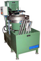 Automatic Stacking Machine handles various size o-rings.