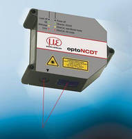 Laser Displacement Sensor has measuring speed up to 50 kHz.