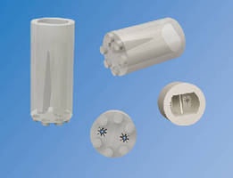 LED Mounting Spacers assure perpendicular LED positioning.