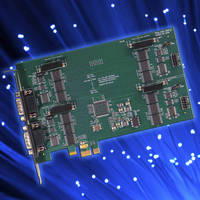 PCI Express Serial Communication Cards offer speeds up to 3 Mbps.