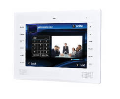 Wall Mount Touch Panel enables extreme graphics and animation.