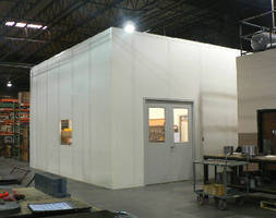 Modular CMM Room with Tall Walls