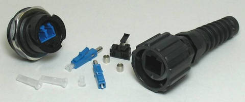 Fiber-Optic Duplex LC Connectors carry IP67 rating.